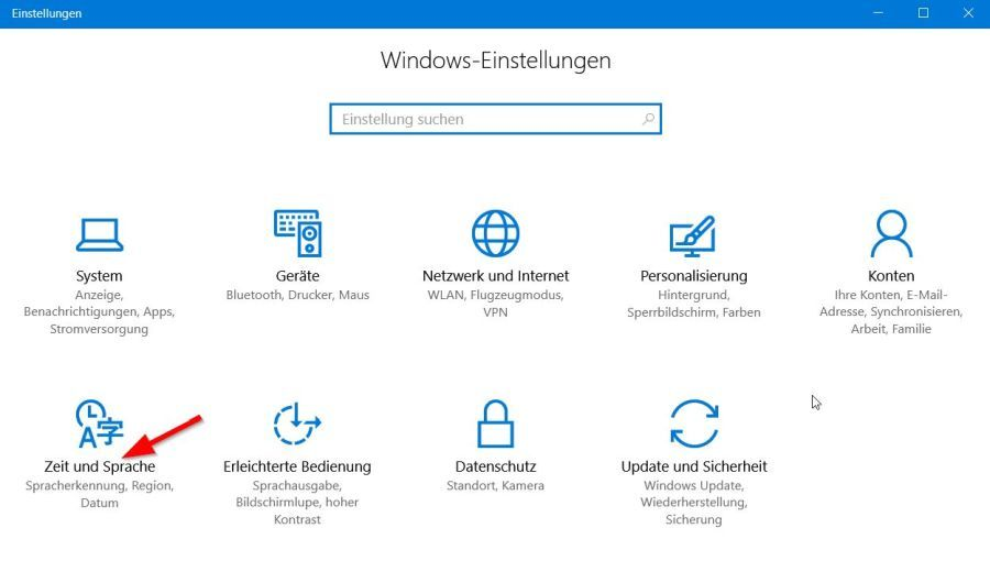 Windows Einstellungen_Russisch-lernen