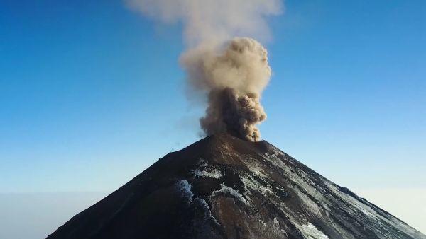 Russische Vulkane auf Russisch für Anfänger