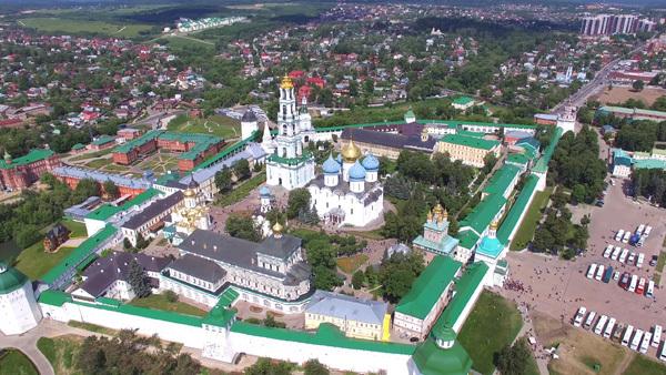 Dreifaltigkeitskloster_Sergijew Possad_Der Goldene Ring